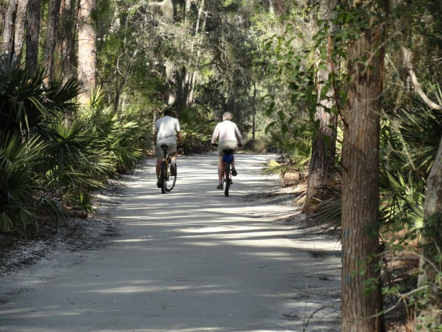 Bike Ride on Jekyll Island
