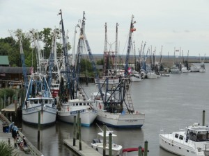Darien Shrimp Boats