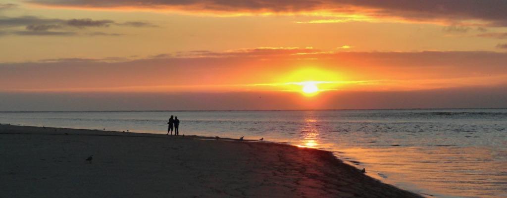 St Simons Island Beach Sunset